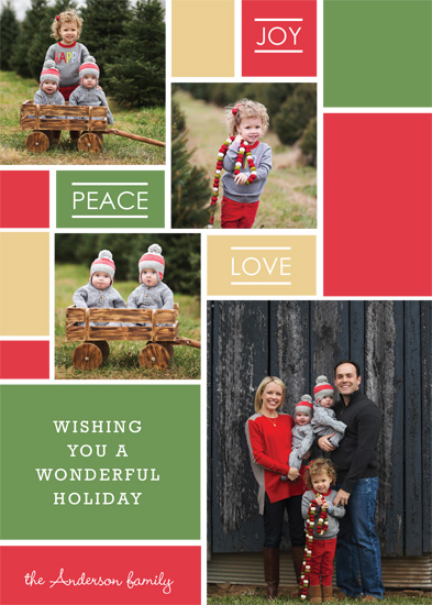 The 2015 Holiday Photo Minted Challenge - Modern Mosiac