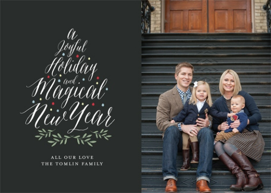 The 2015 Holiday Photo Minted Challenge - Joyful Tree