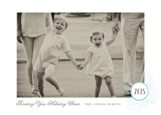 The 2015 Holiday Photo Minted Challenge - Holiday Burst