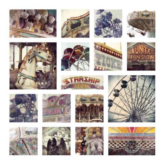 Vintage Carnival Collage - Photo by Melissa O'Connor-Arena