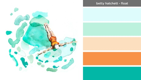 Art Inspired Palette: Betty Hatchett-Floatt