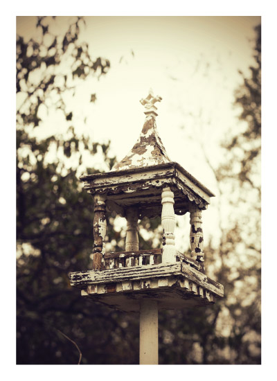 Antique Birdhouse - Photo by Melissa O'Connor-Arena