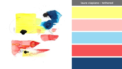 Art Inspired Palette: Laura Viapiano-Tethered