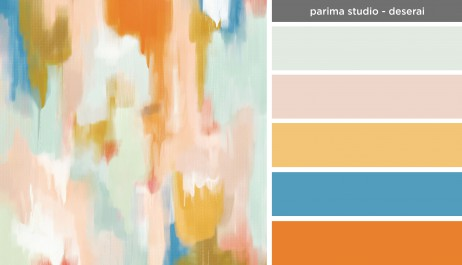 Art Inspired Palette: Parima Studio-Deserai