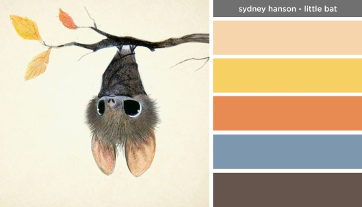 Art Inspired Palette: Sydney Hanson-Little Bat