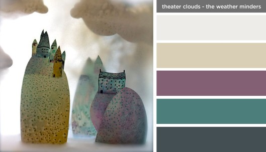Art Inspired Palette: Theater Clouds - The Weather Minders