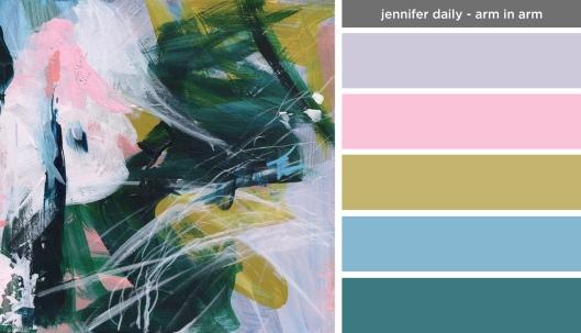 Art Inspired Palette: Jennifer Daily-Arm in Arm