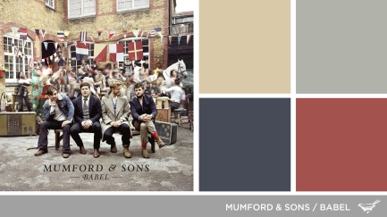 Art Inspired Palette: Mumford & Sons-Babel