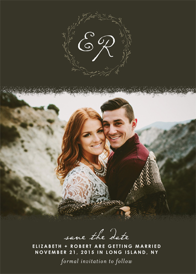 Minted Everlasting Love Save the Date Challenge - Earthy Love