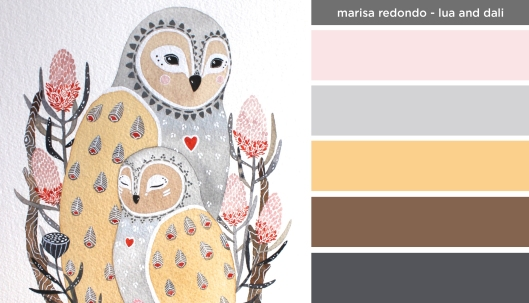 Art Inspired Palette: Marisa Redondo-Lua and Dali