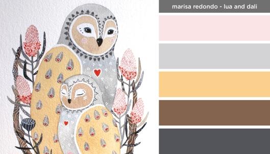 Art Inspired Palette: Marisa Redondo-Lua and Dali
