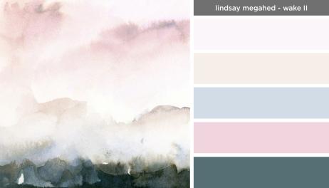 Art Inspired Palette: Lindsay Megahed-Wake II