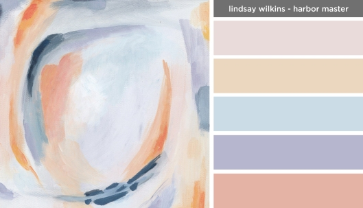 Art Inspired Palette: Lindsay Wilkins-Harbor Master