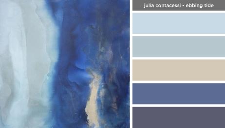 Art Inspired Palette: Julia Contacessi-Ebbing Tide