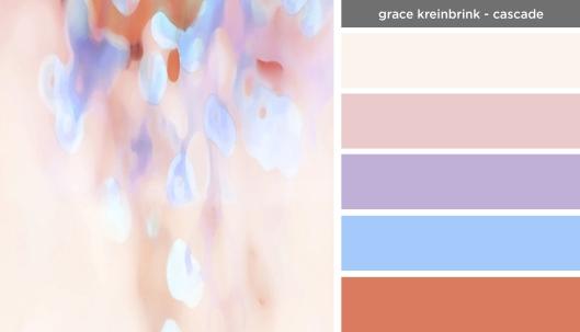 Art Inspired Palette: Grace Kreinbrink-Cascade