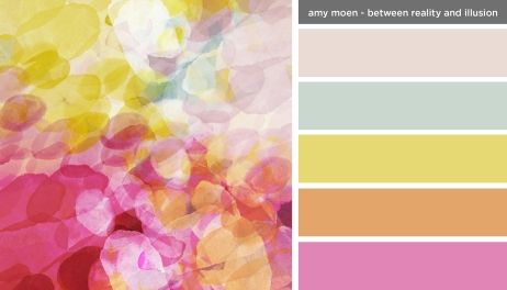 Art Inspired Palette: Amy Moen-Between Reality and Illusion