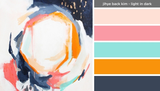 Art Inspired Palette: Jihye Back Kim-Light in Dark