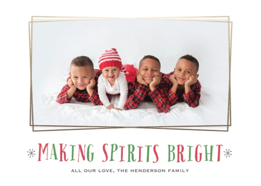 Making Spirits Bright Minted Holiday Challenge - Bright Spirits