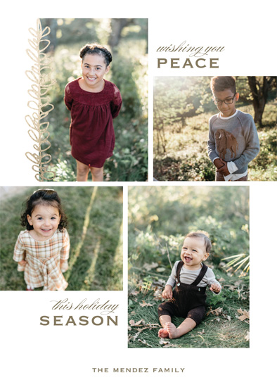 Making Spirits Bright Minted Holiday Challenge - Earthy Floral