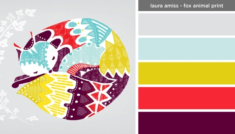 Art Inspired Palette: Laura Amiss-Fox Animal Print