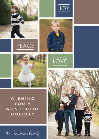 Making Spirits Bright Minted Holiday Challenge - Modern Mosiac